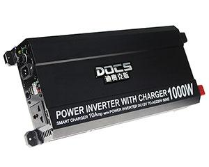 Power Inverter with Battery Charger